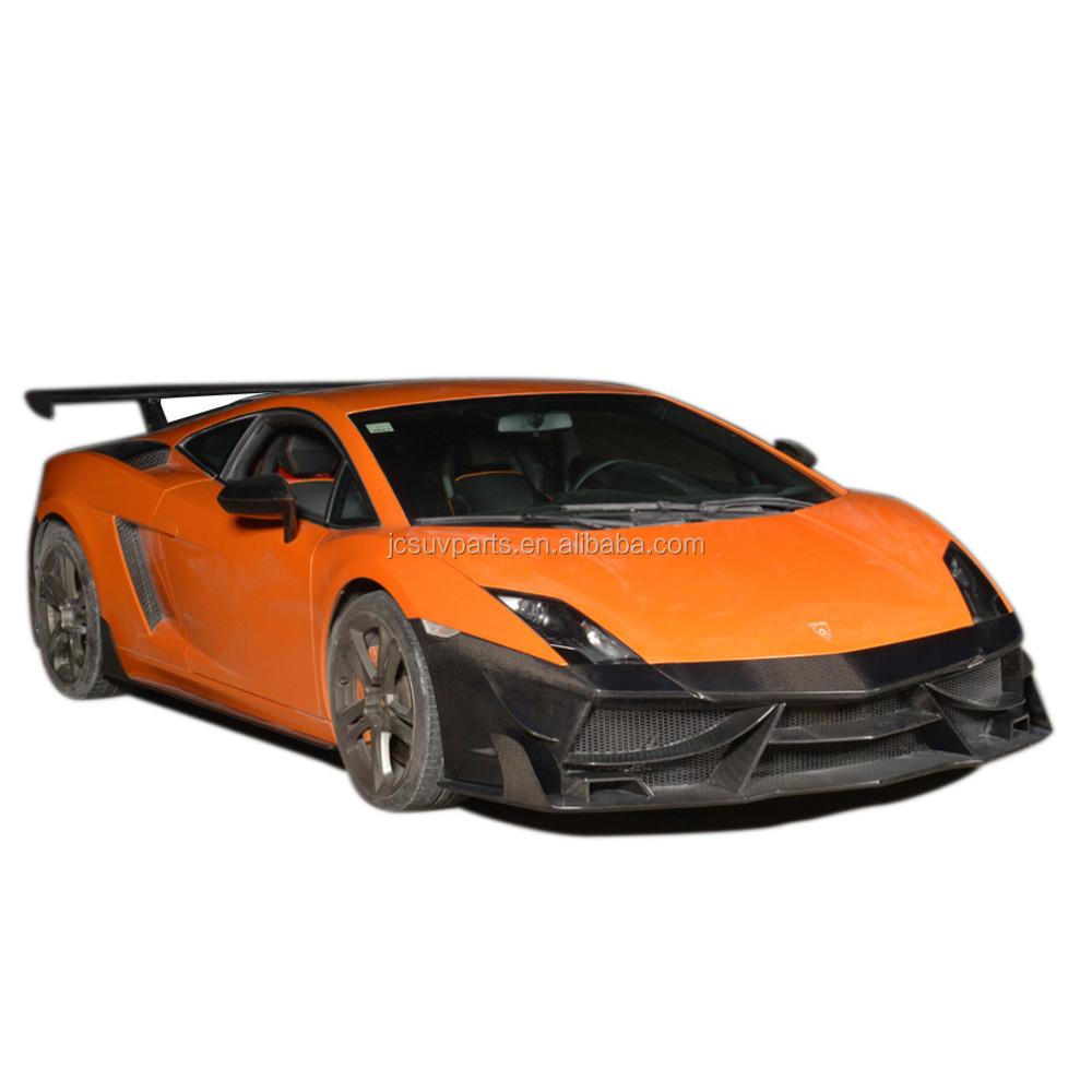 D Style Carbon Fiber Body Kit Front Bumper Fit For Lamborghini ...