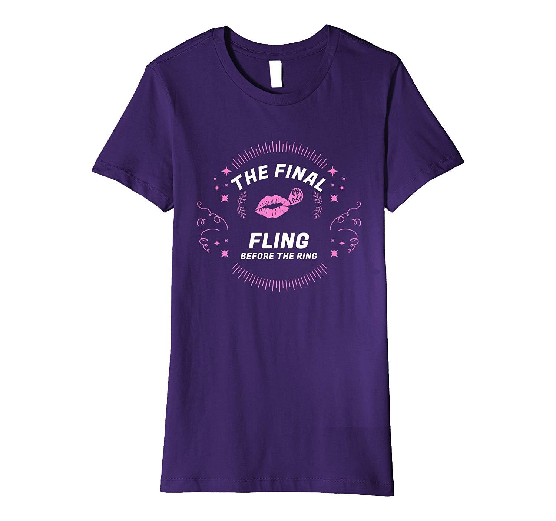get quotations bachelorette party t shirt final fling bridal shower gifts