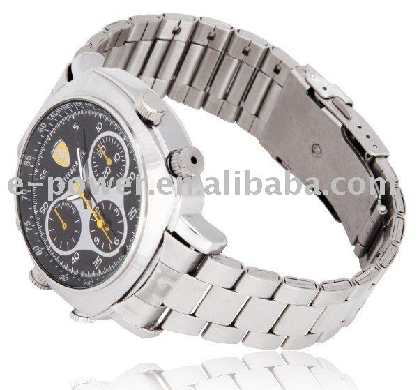 Hot Selling 12.0Mega 720P HD Waterproof Watch DVR with Video+Photo+AV out +PC Camera Functions(ER0511A)