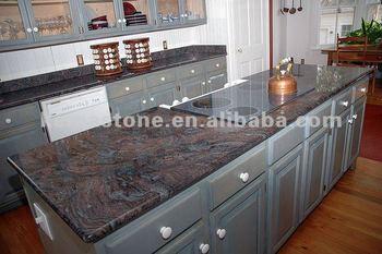pas cher paradiso granit comptoir violet cuisine plan de. Black Bedroom Furniture Sets. Home Design Ideas