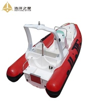 5.8m rigid hull inflatable boats best rescue boat for sale