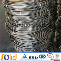 annealed and polished ASTM A269 stainless steel cooling coil tubing