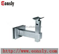 304/316 stainless steel handrail post brackets/adjustable stair brass handrail bracket from Guangzhou