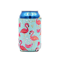 Promotional Sublimation Beer Can Holder Printed Neoprene Can cooler Insulated Stubby Holder