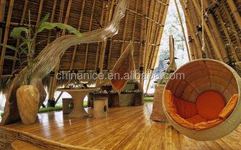 Maison De Jardin En Bambou Synthétique Revêtement De Façade De Mur Rideau  De Panneau - Buy Mur Rideau De Maison De Jardin,Mur Rideau En Bambou ...