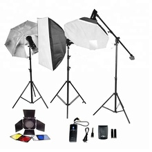 2019 Wholesale suppliers photo studio accessories photography led softbox lighting kit