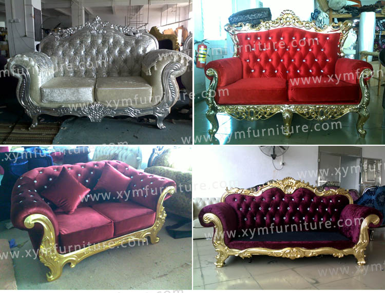 high grade comfortable customized living room sofa made in China