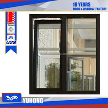 Modern Fashionable design Aluminum two ways opening window