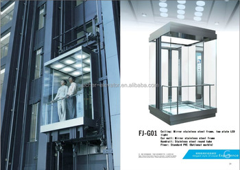Panoramic Glass Elevator Top 10 Elevator Companies In