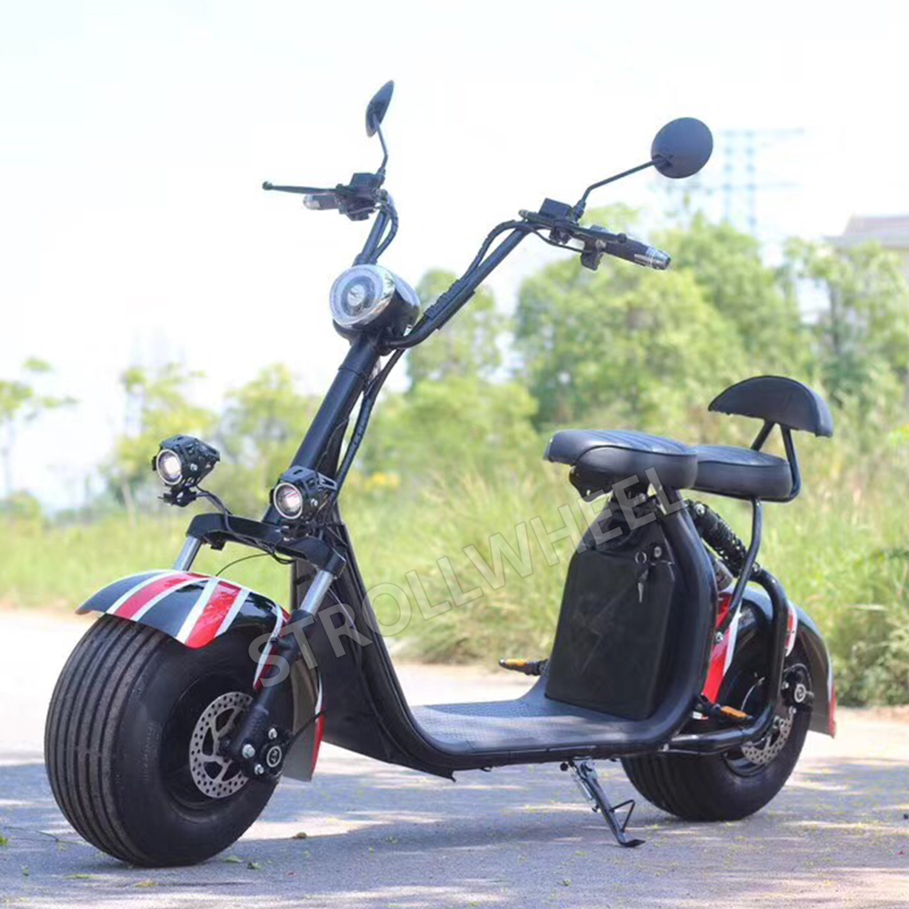 2019 Nuovo citycoco/seev/woqu/scrooser 2 ruote scooter elettrico Citycoco 1500 w 60 v 12ah/ 20ah elettrico moto X7