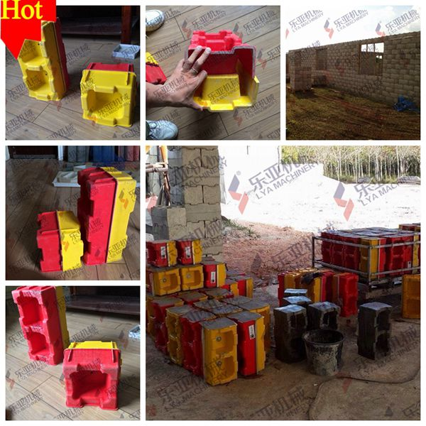 Plastic Concrete Block Forms Buy Reinforced Concrete