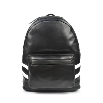 2019 designer custom brand black vegetable tanned leather backpack for women