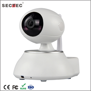 H.264 Radio clock wireless ip camera for baby sitter home security smart phone camera