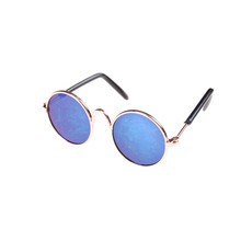 146f2a034ced57 Poupée Accessoires Ronde en forme de Rond Lunettes Verres Colorés lunettes  de Soleil Adapté Pour 18