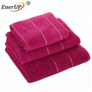 cotton bamboo bath copper fiber towel made in China