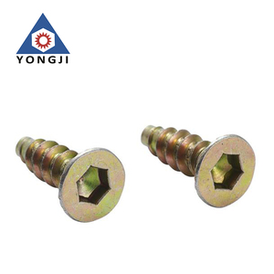 Fastener OEM&ODM manufacturer stainless steel hex socket flat head screw