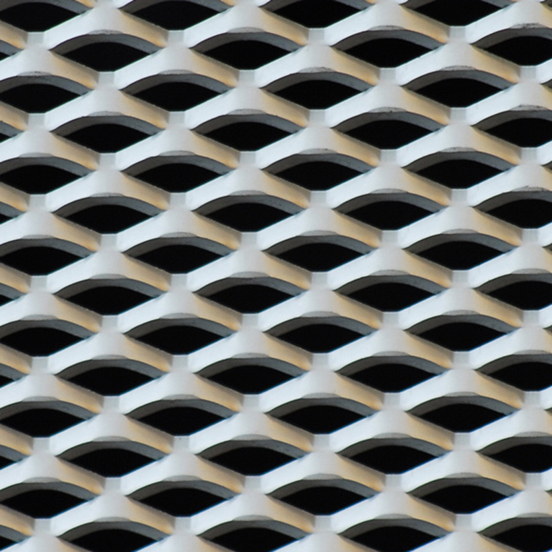 Manufacture PVC coated steel expanded metal mesh fencing, thick spray-painted small hole expanded metal mesh