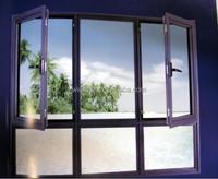 Construction cheap price Vinyl window, China origin big factory distribute best cost Vinyl door and window