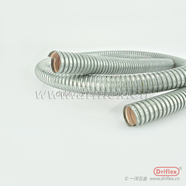 Flexible metal tube for electrical wire protection