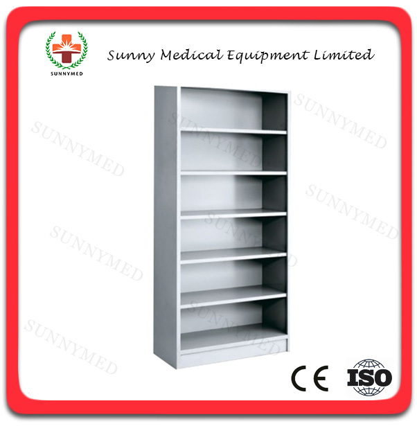 SY R092 Hospital Stainless Steel Non Door Pharmacy Medicine Cabinet