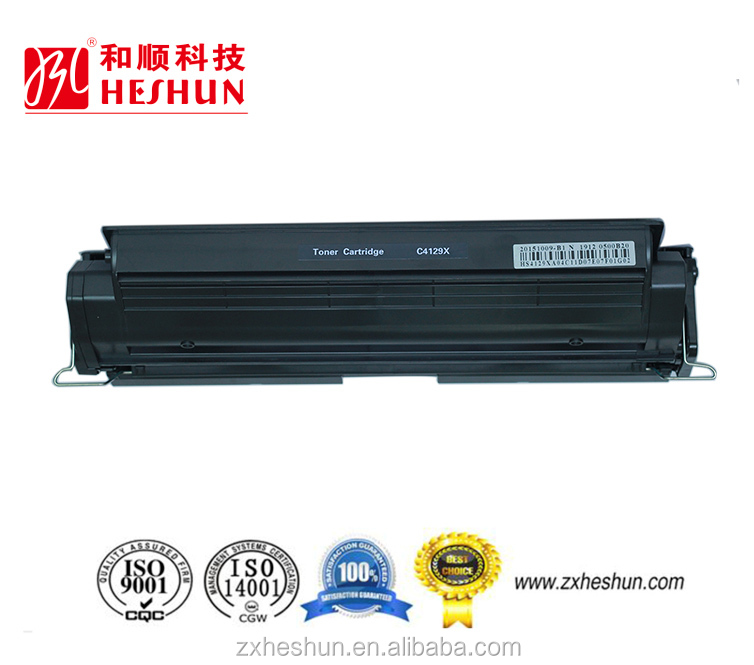 ISO9001 & ISO14001 certificated laser compatible toner cartridge for HP 4129X