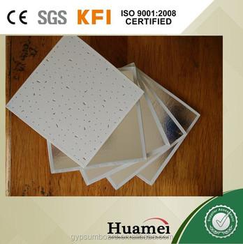 Pvc Laminated Gypsum Board To Sri Lanka Size 595*595mm - Buy Gypsum Board  To Sri Lanka,Pvc Laminated Gypsum Board,Gypsum Board Size Product on