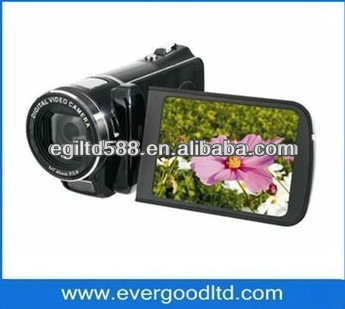 "HD-888 digital video camera MP3 player remote control 3.03.0""TFT LCD 12.0Mega pixels,li-ion battery USB TV OUT"