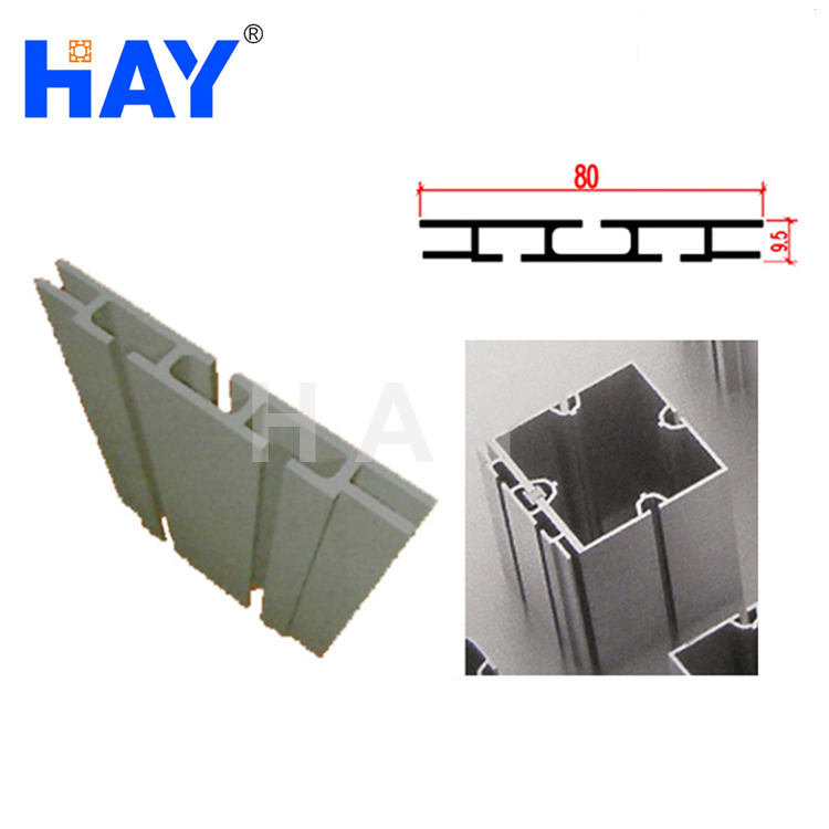 80mm Aluminum Double Sided Fabric Frame for Exhibition Booth