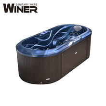 Winer spa AMC 2250B 1 <span class=keywords><strong>personne</strong></span> bain à remous <span class=keywords><strong>baignoire</strong></span> de massage spa bain à remous