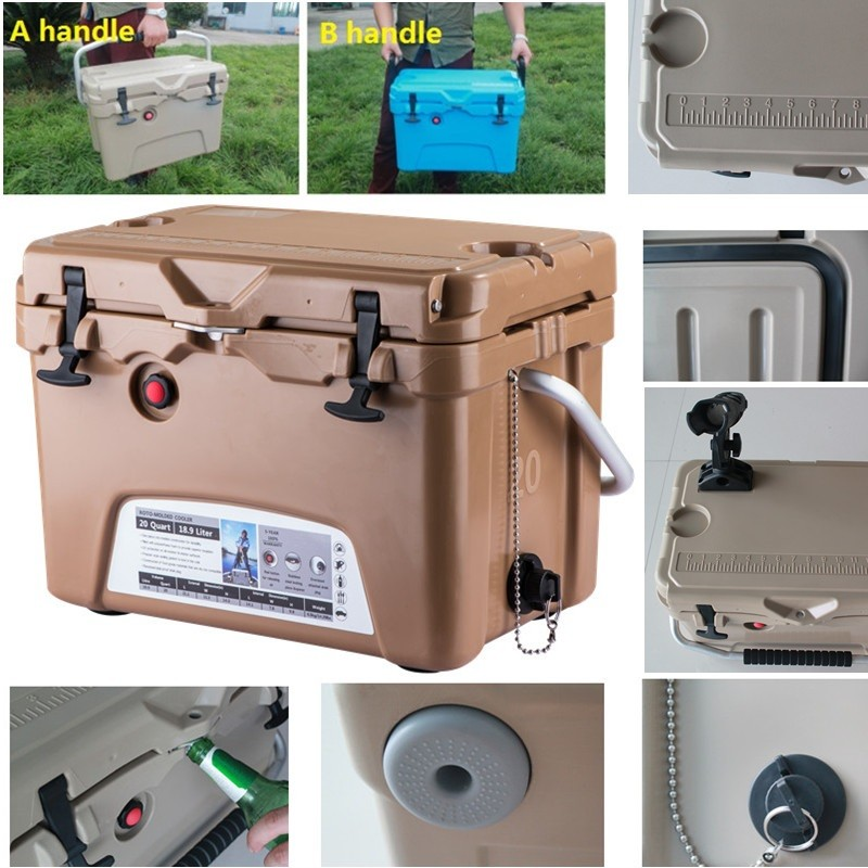Food grade PE marine cooler