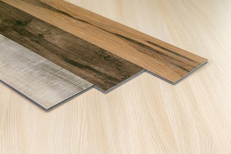 Barato de vinilo tabl n de madera de pl stico pvc azulejo de piso en venta suelos de pl stico - Vinilo madera ...