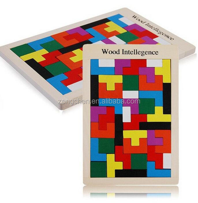 Whitelotous Wooden Tangram Brain Teaser Puzzle <strong>Toys</strong> Tetris Game Educational Kid <strong>Toy</strong>