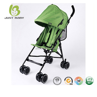 2017 New hot selling lightweight cheap one hand easy quick fold 2 in 1 baby stroller
