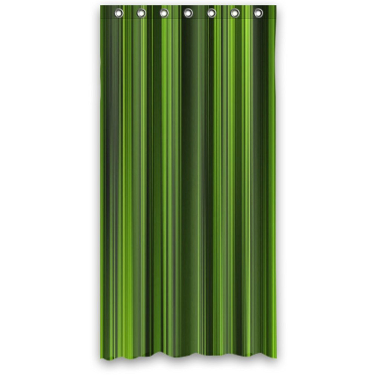 Get Quotations Awesome Stripes In Lime Green Kelly Olive Waterproof Bathroom Shower Curtain 66 By