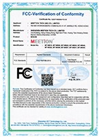 certification Mouse FCC