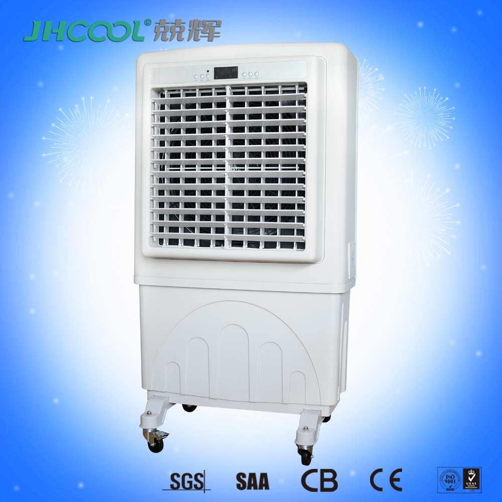 Popular in Dubai! Large airflow 6000cmh Dry Mist Fan for outdoor cooling