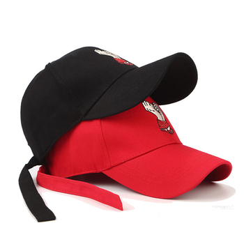 Factory Custom Baseball Hat Baseball Cap Long Strap Embroidery Brushed  Cotton Dad Hats 487e5585d54c