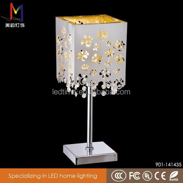 Carve Patterns Room Lamp/a Unique Metal Base Table Lamp/hotel ...