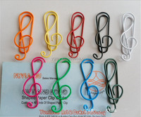 Musical Note Mixed Color Cute Metal Clip Bag Clip Paper Clips