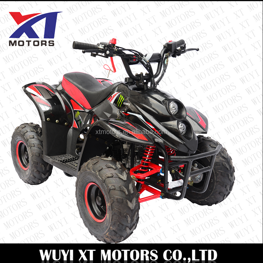 110cc Four Wheelers 6 inch Tires ATVs 4-stroke Quad Bike with electric start