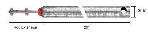 "20"" Tubular Spiral Tilt Window Balance with Red Bushing"