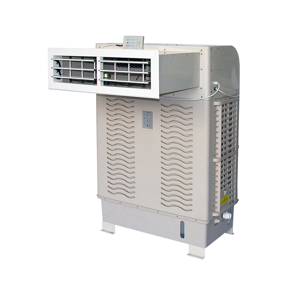 Factory direct <strong>Window</strong> movable 4 sides diffuser water cooling fan, 8000cbm Evaporative <strong>air</strong> cooler, Summer <strong>air</strong> cooler