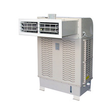 Pabrik Langsung Jendela Bergerak 4 Sisi Diffuser Air Cooling Fan, 8000cbm Evaporative Air Cooler Musim Panas Air Cooler
