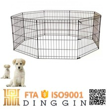 Lows iron fence dog kennel