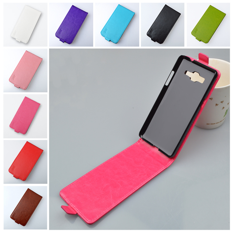 the best attitude 4c9e9 991d1 J&R Brand Leather Case for Samsung Galaxy Grand Prime G530 G530H G5308W  High Quality Flip Cover 9 Colors in Stock