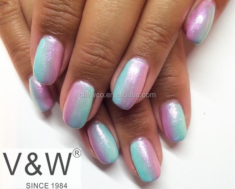 Caliente La Sirena Gel Polaco,Cromo Espejo Pigmento Gel Uñas - Buy ...