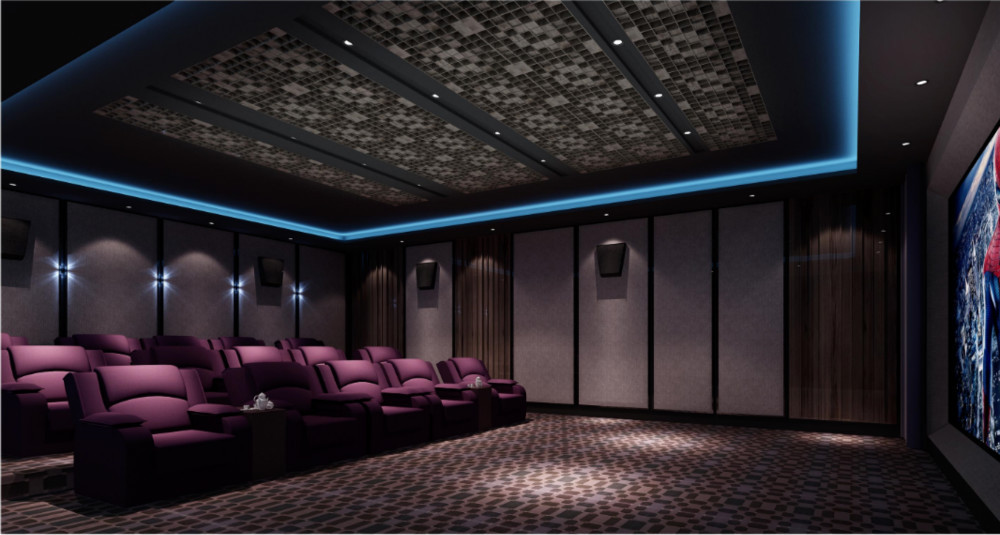 Marvelous BISINI Luxury Intelligent Home Cinema Wireless Media System Design