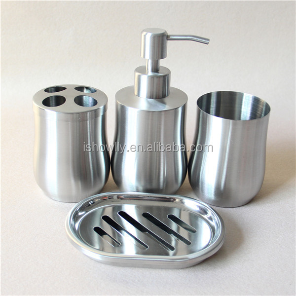 High quality stainless steel bath set bathroom accessories for Quality bathroom fittings