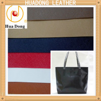 pvc leather for lady's bag and wallpaper