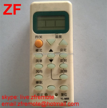 14 Keys Yl-m05 Hw Frigidaire Air Conditioner Remote Control For ...